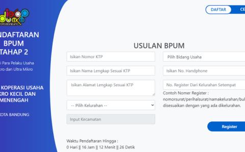 3 Penyebab Bantuan UMKM Bisa Hangus! Cek Namamu di Link BPUM eform.bri.co.id/BPUM dan Lakukan Ini