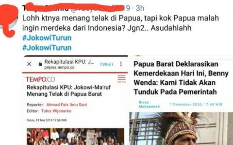 Tagar#JokowiTurun Heboh di Twitter