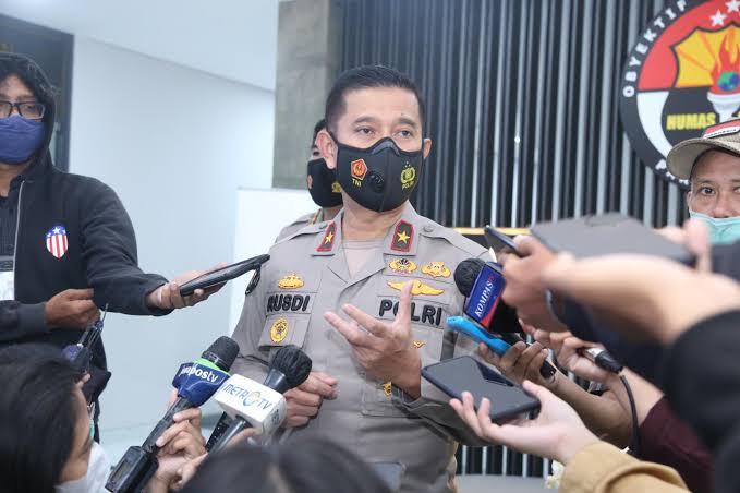 Polri Setop Usut Polisi Tewas Terduga Penembak Laskar FPI