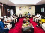 Walikota Samarinda Temui Gubernur, Mohon Dana Talangan Untuk RS. I.A. Moeis Samarinda